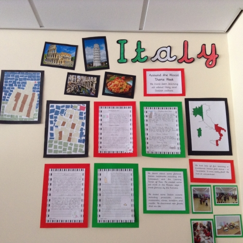 Ciao! Year 3 have been busy learning all about Italy during school's a