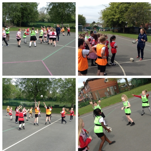 Year 3 Rugby Coaching with Sale Sharks