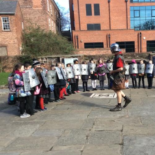Wharton Primary School - Year 3 trip to the Dewa Roman Experience in Chester