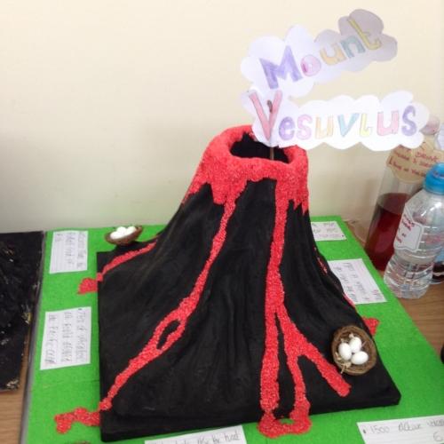 Wharton Primary School - Year 3 Volcano Project